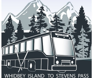 "South Whidbey's ""Snow Rider"" Bus to Stevens Pass"