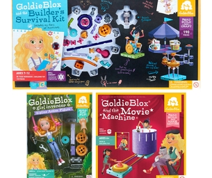 Holiday Gift Pick: GoldieBlox STEM-Inspired Construction Sets