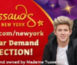 Giveaway: Madame Tussauds Family 4 Pack!