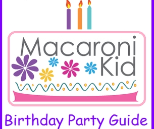 Great New Additons To Our Birthday Party Guide!