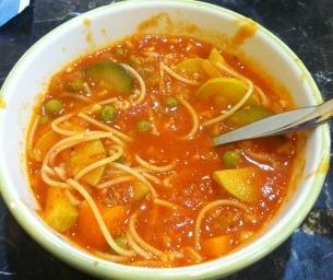 Macaroni Menu: Tomato-Vegetable Soup