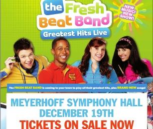 Nickelodeon's The Fresh Beat Band Returns to Baltimore {Dec 19th}