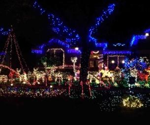 Brandon's Best Christmas Lights! 2014