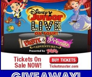 GIVEAWAY! Disney Junior LIVE On Tour! Pirate & Princess Adventure