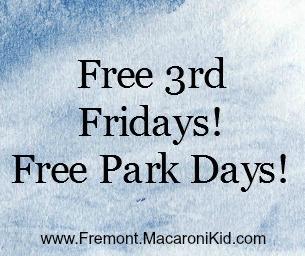 FREE 3rd FRIDAYS - FREE PARK DAYS!