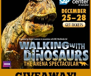GIVEAWAY! Walking With Dinosaurs!