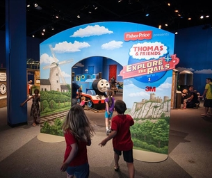 Discovery Cube OC Hosts Thomas & Friends: Explore the Rails