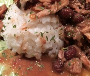 From Frozen Slow Cooker Pork Roast Chili