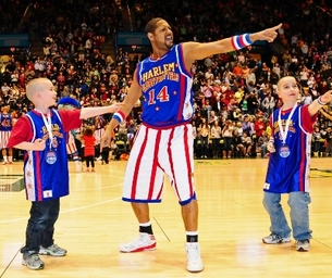 Win 4 Vouchers HERE!  The Harlem Globetrotters