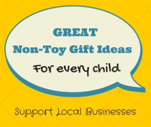Great Non-Toy Gift Ideas for every child!