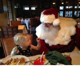 """Breakfast With Santa"" at Pointe Hilton Squaw Peak Resort"
