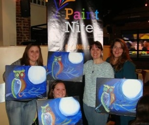 Mom's Night Out ~ Paint Nite Roanoke