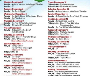ABC Family's 25 Days Of Christmas TV