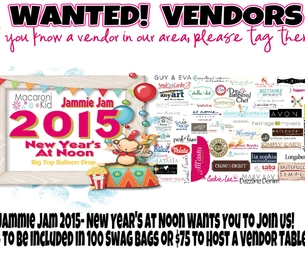 * Vendors Wanted!