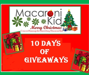 Macaroni Kid Celebrates the 10 Days of Giveaways
