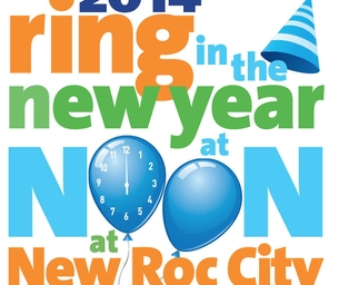 Ring in the New Year at Noon at New Roc City - Wed. Dec. 31st