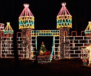 Girl Scouts' Holiday Light Show Introduces New Online Ticketing Policy