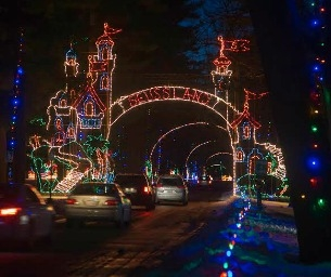 Bright Nights at Forest Park!  In it's 20th Year!