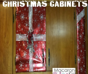 Christmas Cabinets