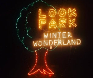 Santa's Trains and Winter Wonderland at Look Park