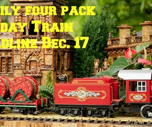 Win a Family Four Pack to The Holiday Train Show