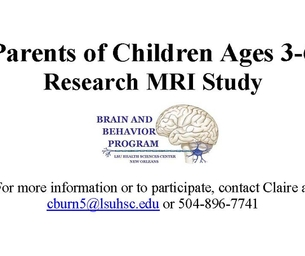 Parents of Children Ages 3 - 6 year old