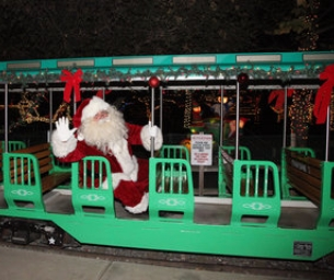 IRVINE PARK RAILROAD'S 19TH ANNUAL CHRISTMAS TRAIN - 2014