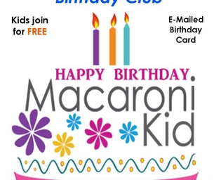 Happy Birthday to Our Macaroni Kids