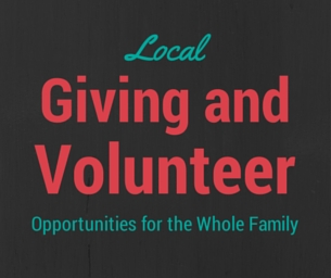 Local Giving Opportunities For Families