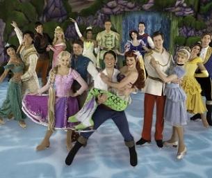Disney on Ice Princesses & Heroes, with Anna & Elsa, at Izod Center