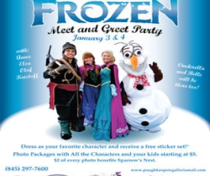 EVENT: The Ultimate Holiday Frozen Meet and Greet Party