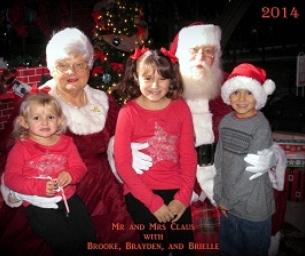 Santa Visit Photos and Video -  A Big Hit!