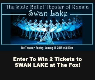 GIVEAWAY - Enter To Win 2 Tix to SWAN LAKE at the Fox Jan. 11, 2015
