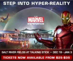 The Marvel Experience: The World's First Hyper-Reality Tour