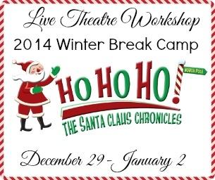 Live Theatre Workshop Winter Camp