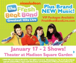 GIVEAWAY! WIN 4 TIX TO THE FRESH BEAT BAND!