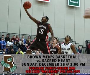 Brown Men's Basketball Game
