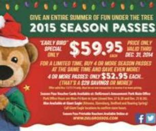 Win 4 Day Passes to DelGrosso's Amusement Park!