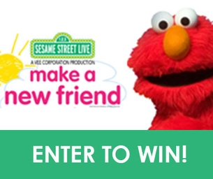 GIVEAWAY: 2 Family 4-packs of Tickets to Sesame Street Live