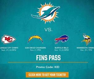 Miami Dolphins FinsPass