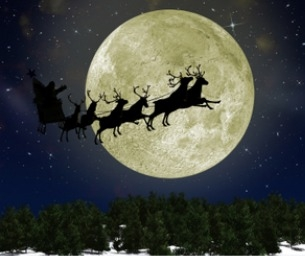 The Countdown Is On-Track Santa On Christmas Eve!