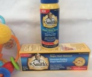 A Macaroni Review: Dr. Smith's Diaper Spray - Hooray!