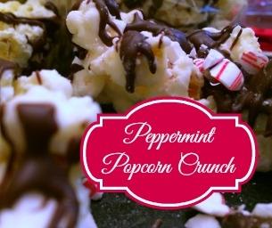 Macaroni YUM!  Peppermint Popcorn Crunch