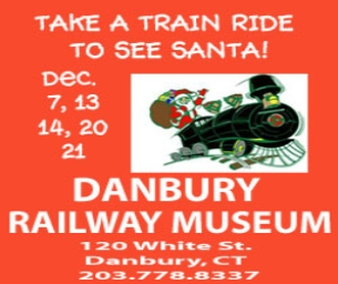 ALL ABOARD! Danbury Railway Museum 2014 SANTA EXPRESS!
