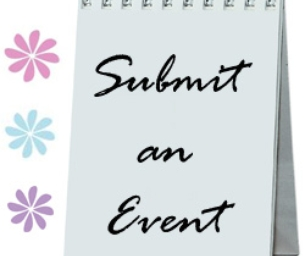 You can submit your events!