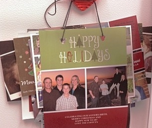 What To Do With All Those Christmas Cards