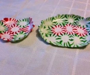 Peppermint Bowls and Trays