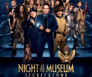 MACARONI MOVIE: NIGHT AT THE MUSEUM: SECRET OF THE TOMB