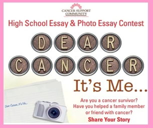 TEEN ESSAY CONTEST FOR THOSE AFFECTED BY CANCER