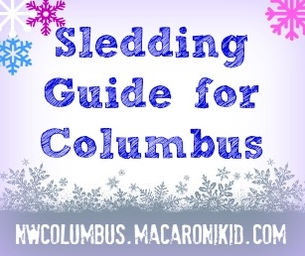 Sledding Hotspots, Columbus, Delaware & Beyond